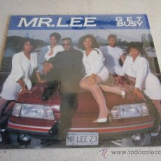 Discos de vinilo: MR. LEE ( GET BUSY ) CLUB MIX + RADIO MIX + CHICAGO MIX + HIT MAN'S HOUSE MIX 1989-USA MAXI33 . Lote 34606730
