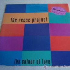 Discos de vinilo: THE REESE PROJECT ( THE COLOUR OF LOVE 6 VERSIONES MIX & REMIX ) USA-1992 MAXI33 GIANT. Lote 34607649