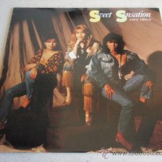 Discos de vinilo: SWEET SENSATION ( LOVE CHILD ) SINGLE VERSION + EXTENDED VERSION ( CHILD OF LOVE ) WILD CHILD MIX . Lote 34607826