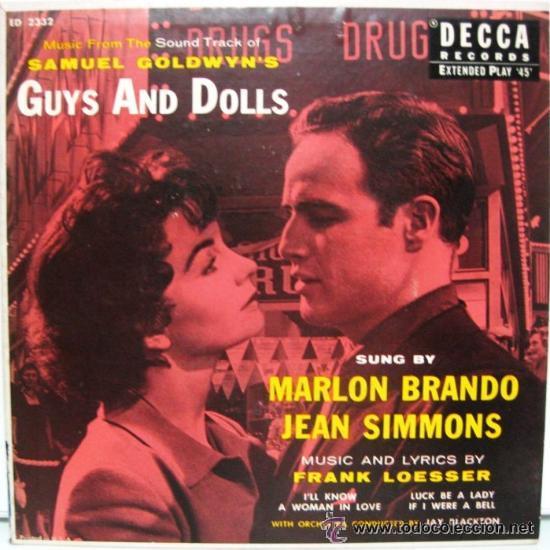 GUYS AND DOLLS (Música - Discos de Vinilo - EPs - Bandas Sonoras y Actores)
