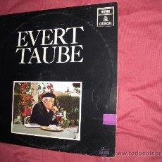 Discos de vinilo: EVERT TAUBE HELA SVERIGES TRUBADUR LP 1968 EMI SWEDEN VER FOTO ADICIONAL. Lote 34609670