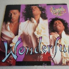 Discos de vinilo: RICK JAMES ( WONDERFUL ) WONDER-MIX - WONDER-DUB - BASS-A-FUL - BUFFALO MIX - RADIO REMIX/EDIT - . Lote 34610784