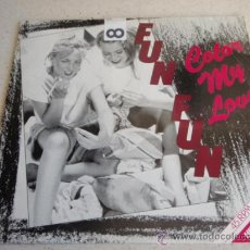 Discos de vinil: FUN FUN ( COLOUR MY LOVE ) CLUB MIX + INSTRUMENTAL MIX + BONUS BEATS 1984 MAXI33 TANDAN RECORDS. Lote 34613227