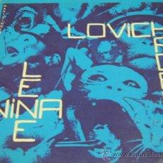 Discos de vinilo: NINA HAGEN & LENE LOVICH - DON'T KILL THE ANIMALS - MAXI SINGLE - ARIOLA 1986 SPAIN. Lote 34614183