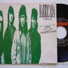 Discos de vinilo: BARRICADA. 7 SINGLE. PATINAZO. MERCURY 1989. PROMO ESPAÑOLA. Lote 34615412