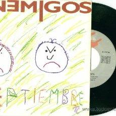 Discos de vinilo: LOS ENEMIGOS. SEPTIEMBRE (VINILO SINGLE 1990). Lote 36370942
