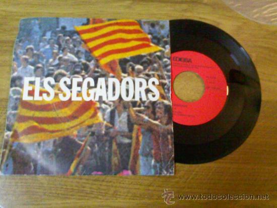 ELS SEGADORS HIMNE NACIONAL DE CATALUÑA.1976 (Música - Discos - Singles Vinilo - Orquestas)