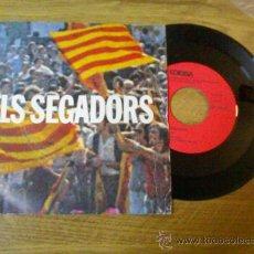 Discos de vinilo: ELS SEGADORS HIMNE NACIONAL DE CATALUÑA.1976. Lote 34620816