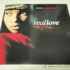 Discos de vinilo: MARY J BLIGE ( REAL LOVE 5 VERSIONES ) ENGLAND - 1993 MAXI33 MCA RECORDS. Lote 34620897