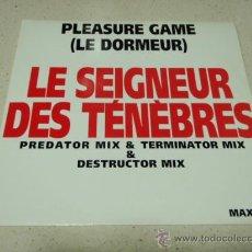Discos de vinilo: LE DORMEUR ( LE SEIGNEUR DES TENEBRES 3 VERSIONES ) 1991-FRANCE MAXI45 TOUCH OF GOLD. Lote 34621144
