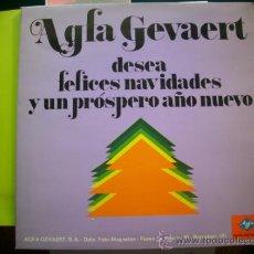 Discos de vinilo: AGFA GEVAERT / FELICES NAVIDADES Y.../ LP PROMO . Lote 34630181