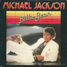 Discos de vinilo: MICHAEL JACKSON - BILLIE JEAN / IT´S THE FALLING IN LOVE EPIC - 1983. Lote 34631733