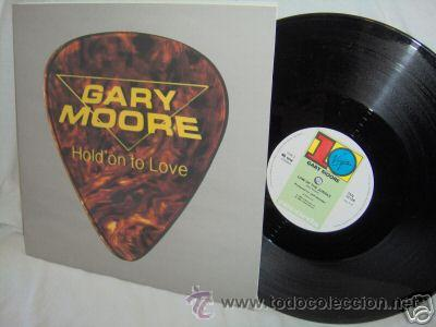 GARY MOORE / HOLD ON TO LOVE 1983 !! RARO MAXI 3 TEMAS !! EDIT.ORIG.UK !!! IMPECABLE !! (Música - Discos de Vinilo - Maxi Singles - Heavy - Metal)