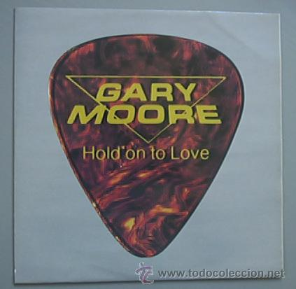Discos de vinilo: GARY MOORE / hold on to love 1983 !! RARO MAXI 3 TEMAS !! EDIT.ORIG.UK !!! IMPECABLE !! - Foto 2 - 34632831