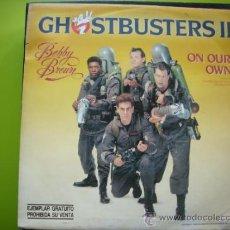 Discos de vinilo: GHOSTBUSTERS II - SINGLE PROMO 1989 PEPETO. Lote 55265786