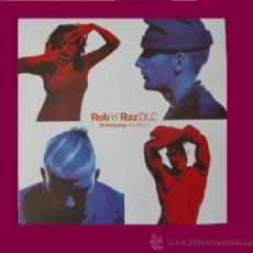 Discos de vinil: ROB 'N' RAZ, DLC LP CLUBHOPPING THE ALBUM 1992 TELEGRAM RECORDS STOCKHOLM – TLP 13 SWEDEN. Lote 34634797