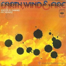 Discos de vinilo: EARTH WIND & FIRE - THAT´S THE WAY OF THE WORLD / AFRICANO C B S - 1975. Lote 34635759