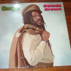 Discos de vinilo: LP VINILO 'SARGE' (DENNIS BROWN). Lote 34641363