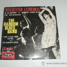 Discos de vinilo: THE RANDOM BLUES BAND - WINCHESTER CATHEDRAL + 3 EP 1966 MADE IN FRANCE. Lote 34649578