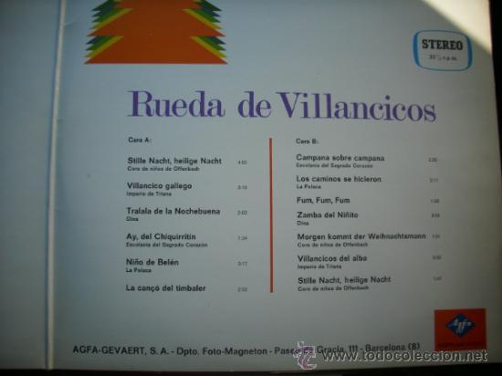Discos de vinilo: DETALLE CONTRAPORTADA TITULOS - Foto 2 - 34630181