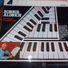 Discos de vinilo: RONNIE ALDRICH, SU PIANO Y ORQUESTA. COLUMBIA ESTEREO 1982 LP-. Lote 34637972