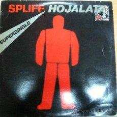 Discos de vinilo: MAXISINGLE SPLIFF HOJALATA - DIA A DIA. Lote 34639945
