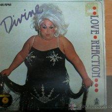 Discos de vinilo: MAXISINGLE DIVIEN LOVE REACTION. Lote 34640056