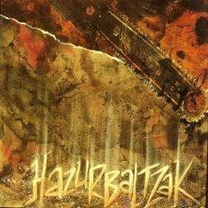 Discos de vinilo: HAZURBALTZAK-BILLIE JEAN + MALKO ILUNAK + POLIRONARI GORRA MAXI SINGLE 1991 SPAIN. Lote 34642475