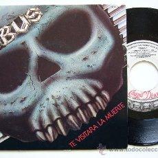 Discos de vinilo: OBUS. 7 SINGLE. TE VISITARA LA MUERTE. CHAPA DISCOS 1985. PROMO. Lote 34643249