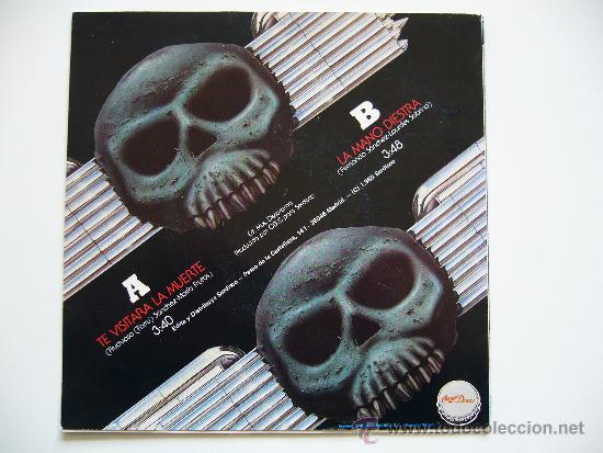 Discos de vinilo: Obus. 7 Single. Te visitara la muerte. Chapa discos 1985. Promo - Foto 2 - 34643249
