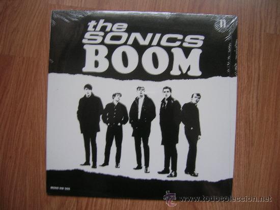 THE SONICS - BOOM - REED. 2008 2º LP USA 1966 - CARPETA EX VINILO EX (Música - Discos - LP Vinilo - Otros estilos)