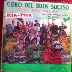 """Discos de vinilo: 7"""" SINGLE - CORO DEL BUENSUCESO -RIA-PITA( CON ANA REVERTE). Lote 34648520"""