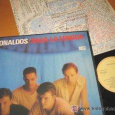 Discos de vinilo: LOS RONALDOS - SACA LA LENGUA - ORIG. EDIT. 1988 + ENCARTE !!!!!!. Lote 34650352