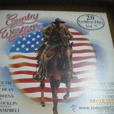Discos de vinilo: COUNTRY WESTERN VOL.7, JOE SOUTH, JIMMY DEAN, BUCK OWENS, ETC.. Lote 34863097