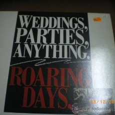 Discos de vinilo: WEDDING, PARTIES ANYTHING, ROARING DAYS, POP - FOLK. Lote 34863259