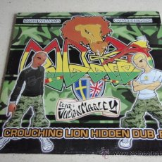 Discos de vinilo: MARK WILLIAMS FEATURING JULIAN MARLEY (CROUCHING LION HIDDEN DUB E.P.) TIME DUB + HIDDEN DUB + LAUGH. Lote 34662454
