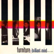 Discos de vinilo: FURNITURE - BRILLIANT MIND / TO GUS (SINGLE 45 RPM) - NUEVO. Lote 34683189