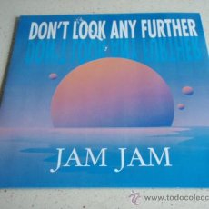 Discos de vinilo: JAM JAM ( DON'T LOOK ANY FURTHER CLUB MIX + INSTRUMENTAL VERSION - THE LOVE I LOST ) 1990-GERMANY . Lote 34684263
