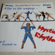 Discos de vinilo: MYSTIC RHYTHM ( KILLER ON THE RAMPAGE - KINGS OF DISCOLAND ) 1984-GERMANY MAXI45 POLYDOR. Lote 34684356