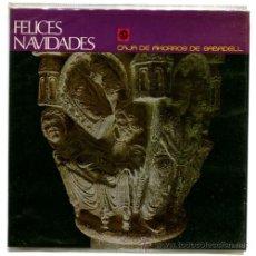 Discos de vinilo: CORO INFANTIL ELISENDA+LOLA FLORES+CHACHO - FELICES NAVIDADES - EP SPAIN 1970 - EDIGSA. Lote 34684483