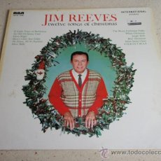 Discos de vinilo: JIM REEVES 'TWELVE SONGS OF CHRISTMAS' 12 CANCIONES GERMANY LP33 RCA. Lote 34685820