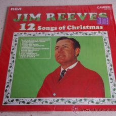 Discos de vinilo: JIM REEVES '12 SONGS OF CHRISTMAS' ENGLAND LP33 RCA. Lote 34685866