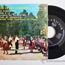 """Discos de vinilo: GALICIA EN SUS CANCIONES - LAUREADO CORO """"CANTIGAS DA TERRA"""" ¡¡NUEVO!! (RCA EP 1963) ESPAÑA . Lote 34686785"""