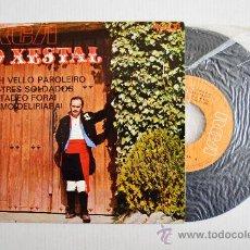 Discos de vinilo: O XESTAL - UNH VELLO PAROLEIRO… ¡¡NUEVO!! (RCA EP 1970) ESPAÑA. Lote 34686935
