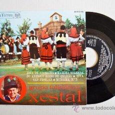 Discos de vinilo: O XESTAL - JOTA DE NEGREIRA… ¡¡NUEVO!! (RCA EP 1968) ESPAÑA. Lote 34687137