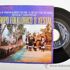 Discos de vinilo: O XESTAL - JOTA DE NEGREIRA/MARCHA SOLEMNE… ¡¡NUEVO!! (RCA EP 1968) ESPAÑA. Lote 34687184