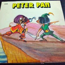 Discos de vinilo: PETER PAN, CUENTO - DIRECTOR: ALFONSO AGULLÓ. Lote 34692352