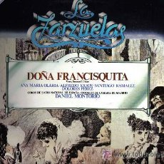 Discos de vinilo: DOÑA FRANCISQUITA - AMADEO VIVES. Lote 34693377
