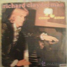 Discos de vinilo: RICHARD CLAYDERMAN COMO AMOR. Lote 34694350