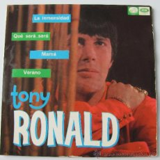 Discos de vinilo: TONY RONALD - LA INMENSIDAD - EP 1967. Lote 34697691